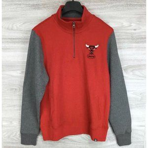 '47 Chicago Bulls Triple Coverage 1/4 Zip Up
